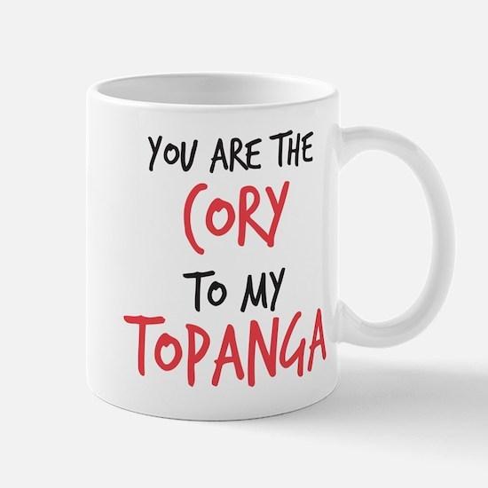 Cory to my Topanga Mug