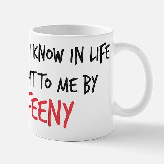 Mr. Feeny Taught Me Mug