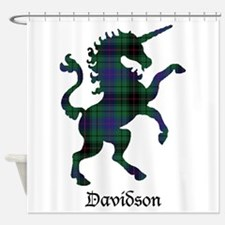 Unicorn - Davidson Shower Curtain