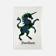 Unicorn - Davidson Rectangle Magnet