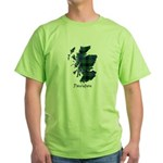 Map - Davidson Green T-Shirt