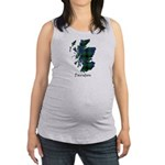 Map - Davidson Maternity Tank Top