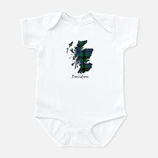 Map - Davidson Infant Bodysuit