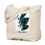Map - Davidson Tote Bag