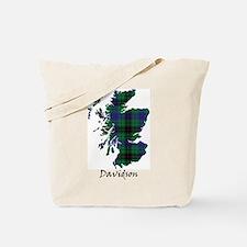 Map - Davidson Tote Bag