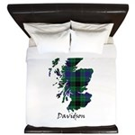 Map - Davidson King Duvet