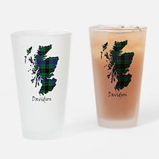 Map - Davidson Drinking Glass