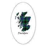 Map - Davidson Sticker (Oval 10 pk)