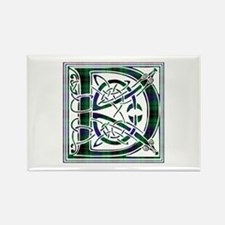 Monogram - Davidson Rectangle Magnet