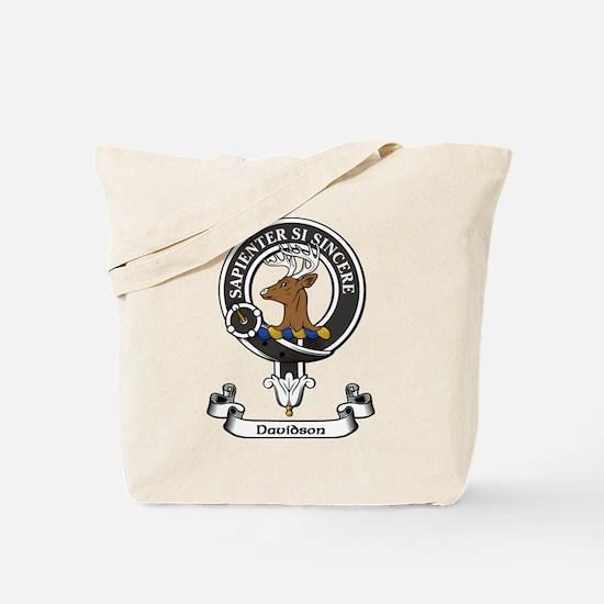Badge - Davidson Tote Bag