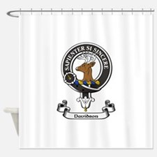 Badge - Davidson Shower Curtain