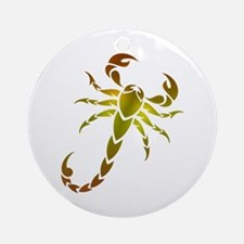 Scorpion Round Ornament