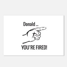 Donald ... You're Fired! Postcards (Package of 8)