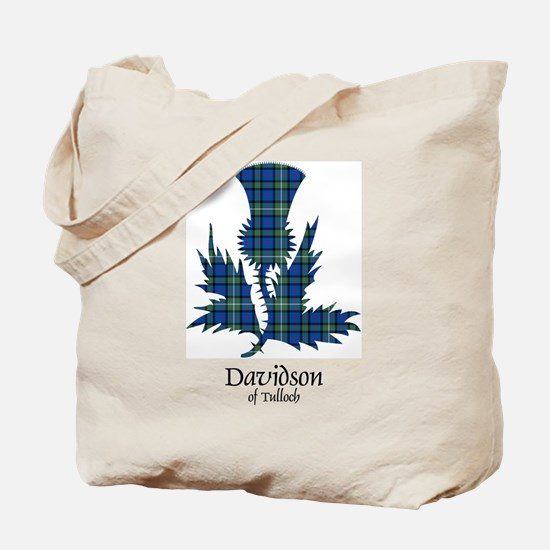 Thistle - Davidson of Tulloch Tote Bag