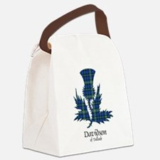 Thistle - Davidson of Tulloch Canvas Lunch Bag