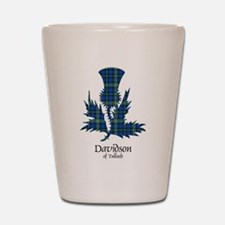 Thistle - Davidson of Tulloch Shot Glass