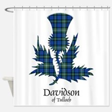 Thistle - Davidson of Tulloch Shower Curtain