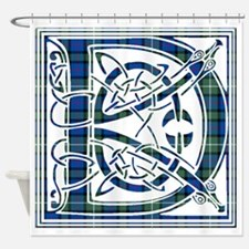Monogram - Davidson of Tulloch Shower Curtain