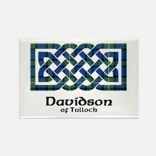 Knot - Davidson of Tulloch Rectangle Magnet