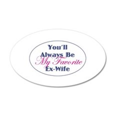 Favorite Ex-Wife Wall Decal