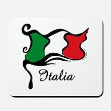 Funky Italian Flag Mousepad