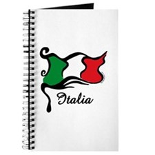 Funky Italian Flag Journal