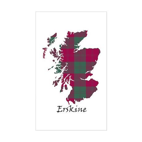 Map - Erskine Sticker (Rectangle)
