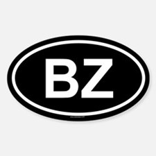 BZ Oval Decal
