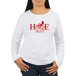 HORDE HUMOR FUNNY HORDE GIRL  Women's Long Sleeve