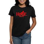 HORDE HUMOR FUNNY HORDE GIRL  Women's Dark T-Shirt