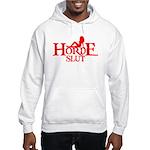 HORDE HUMOR FUNNY HORDE GIRL Hooded Sweatshirt