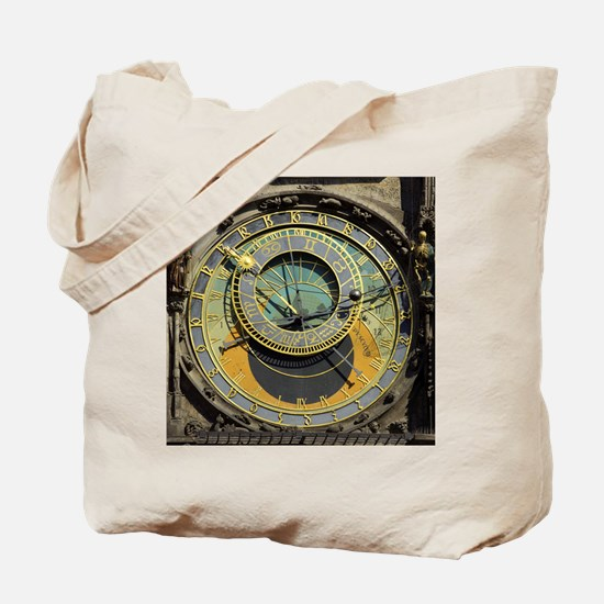 Prague Astronomical Clock Tower in Old To Tote Bag