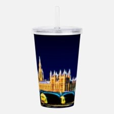Houses of Parliament w Acrylic Double-wall Tumbler