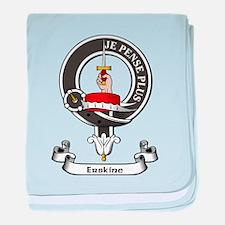 Badge - Erskine baby blanket