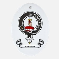 Badge - Erskine Ornament (Oval)