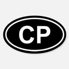 CP Oval Bumper Stickers