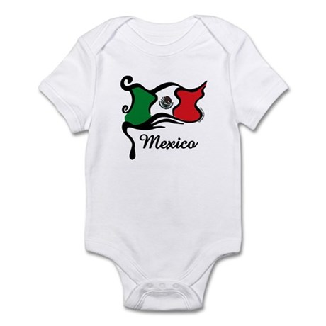 Funky Mexican Flag Infant Bodysuit