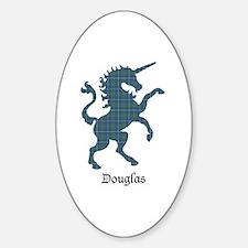 Unicorn - Douglas Sticker (Oval)