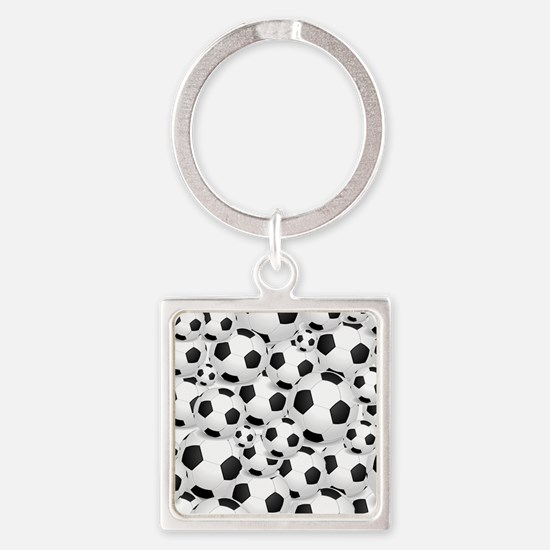 Soccer Balls Unlimited Keychains