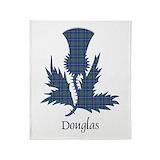 Douglas tartan Fleece Blankets