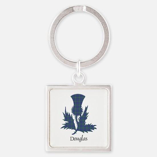 Thistle - Douglas Square Keychain