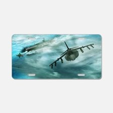 Cute Harrier Aluminum License Plate