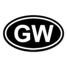 GW Oval Decal