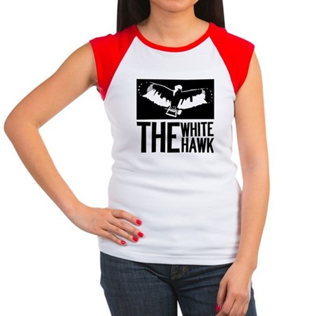 The White Hawk Women's Cap Sleeve T-Shirt