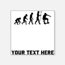Skateboarder Evolution Sticker