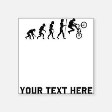BMX Biker Evolution Sticker
