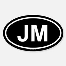 JM Oval Decal