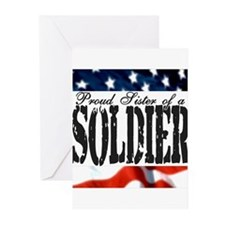 Proud Sister Greeting Cards (Pk of 10)