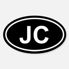 JC Oval Decal