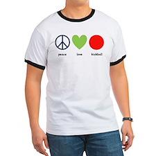 peacelovekickball T-Shirt
